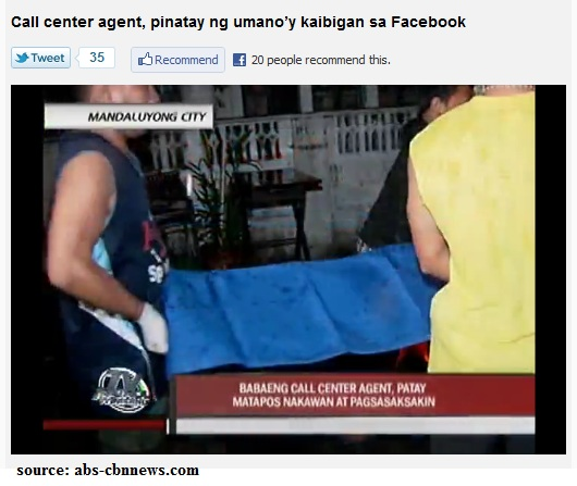 facebook crime Philippines