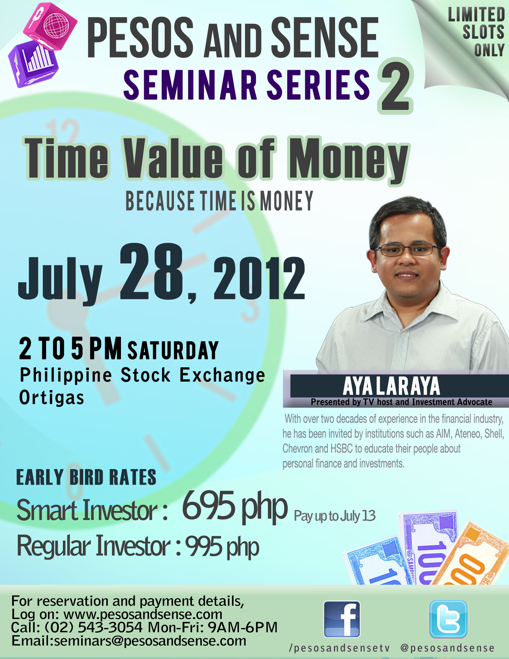 time value of money seminar