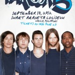 3rd Time in Manila for Maroon 5