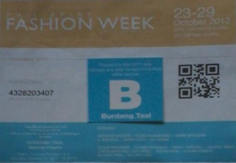 fashion week invite