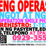 Raffle For A Cause, For Operation Smile Philippines