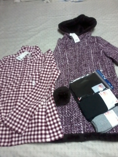 Uniqlo items bought