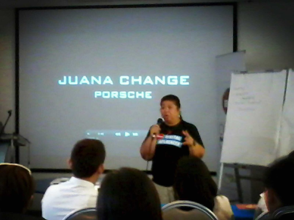 Juana Change at DIM2013