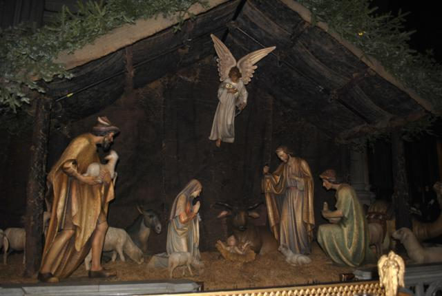 St. Patrick's Cathedral Nativity display