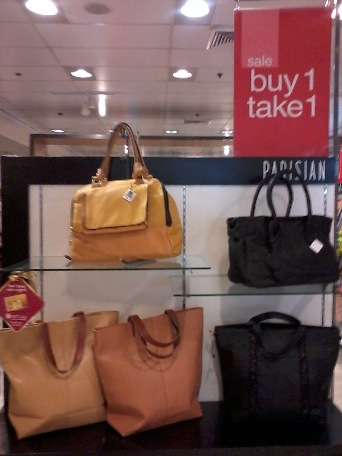 Buy 1 Take 1 on bags