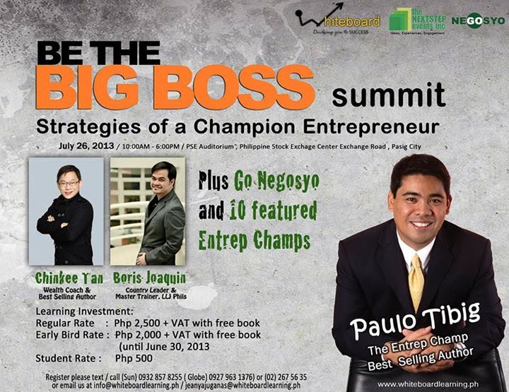 be the big boss summit