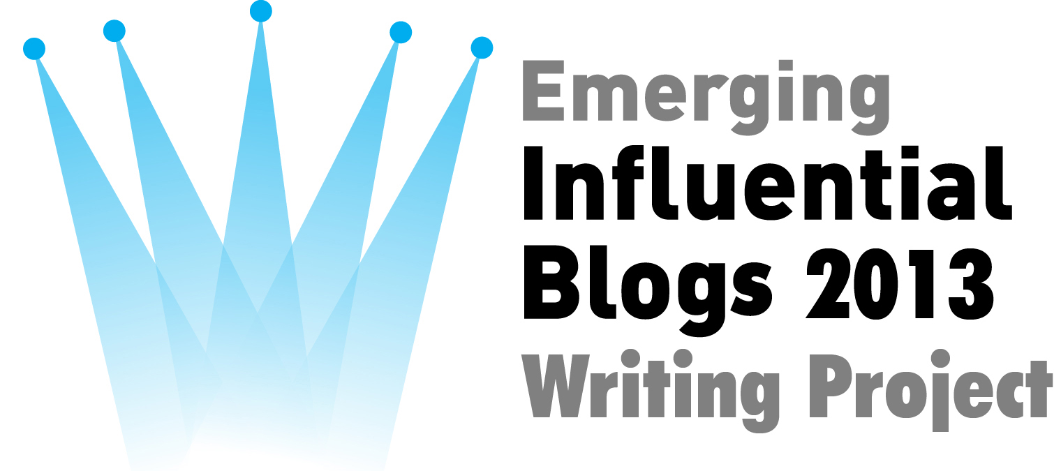 emerging influential blogs 2013 writing project