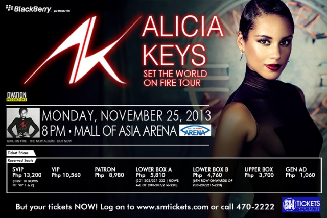 alicia keys manila set the world on fire concert