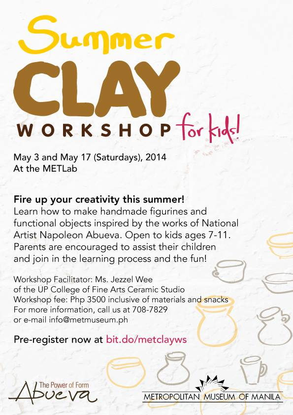 summer clay workshop at the met museum