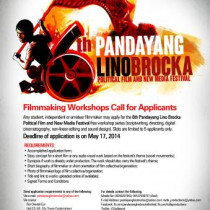 6th Pandayang Lino Brocka Political Film and New Media Festival
