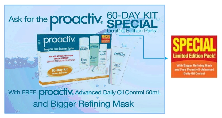 proactiv 60-day limited edition pack with free daily oil control