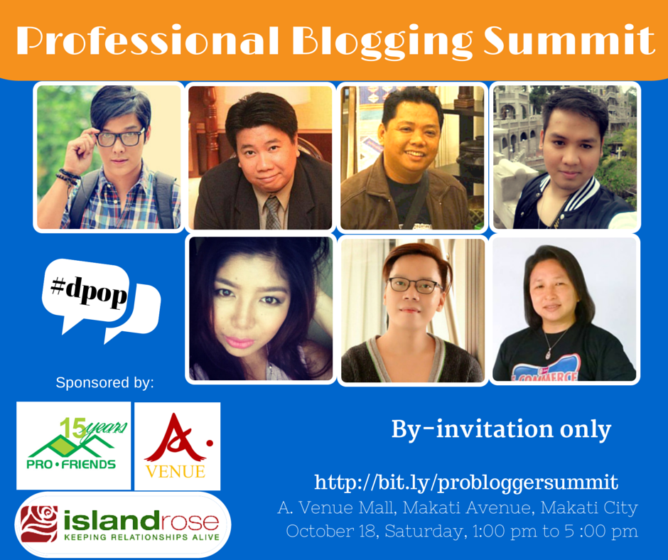 Professional Blogging Summit