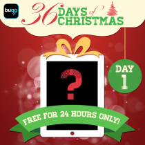 36 Days of Buqo Christmas Social image PR