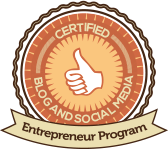 Blog and Social Media Entrepreneur Program logo