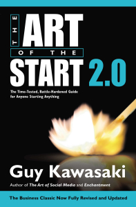 Art Of the Start 2 by Guy Kawasaki