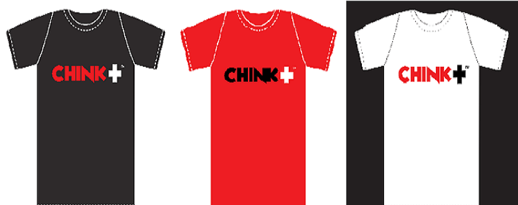 Chink Positive t-shirts by Chinkee Tan