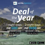 Grab A Weekend Break with HotelQuickly's Deal of the Year Promo