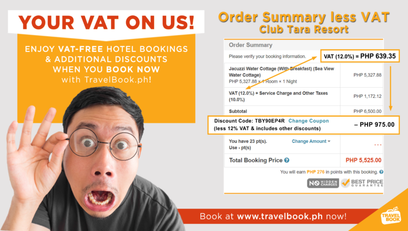 travelbook.ph Free VAT