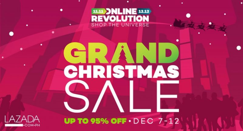 Lazada Grand Christmas Sale 2017
