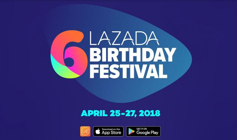 Lazada 6th birthday sale